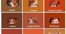 Reed Hair Color Chart Red Hair Color Chart And Shades