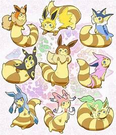 Anime Malvorlagen List Eeveelutions Furrets Gijinka