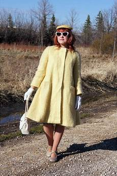 Light Yellow Coat Light Yellow Mohair Vintage Coats Silver Fluevog Shoes