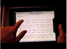 Songsterr Guitar Tabs iPad App Review   YouTube