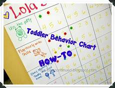Toddler Behavior Chart Ideas Tobecontinued How To Make A Toddler Behavior Chart