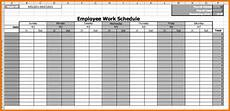 Monthly Employee Schedule Template Free Calendar Employee Schedule Template Printable Schedule