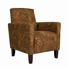 paisley accent chair portfolio paisley arm accent chair free