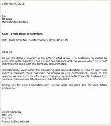 End Employment Letter Termination Employment Letter Freelance Front End