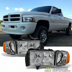 Lights For 1999 Dodge Ram 1500 Chrome 1999 2000 2001 Dodge Ram 1500 Pickup Sport