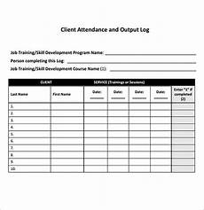Attendance Tracking Program Free 8 Sample Attendance Tracking In Pdf Ms Word