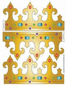 Paper Crown Template For Adults Royal Paper Crowns Crown Printable Crown Template
