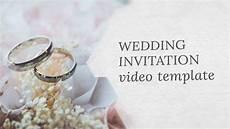 Wedding Invitation Downloads Wedding Invitation Video Template Editable Youtube