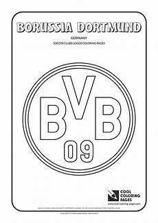 borussia dortmund logo coloring page dortmund bilder