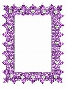 purple transparent frame with diamonds gallery