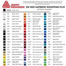 Avery Supreme Colour Chart Avery Dennison Sw900 Easy Apply Rs Super Wrap Film 60 Quot By