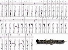 Oboe Chart Oboe Chart Word Pdf File Free Download