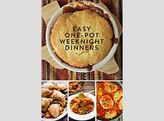 Easy One Pot Weeknight Dinners ? The Inspired Home