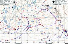 Surface Analysis Chart Depicts Surface Frontal Analysis
