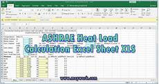 Emi Calculator Xls Sheet Download Download Ashrae Heat Load Calculation Excel Sheet Xls