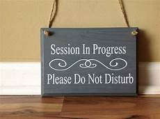 Training In Progress Sign Session In Progress Please Do Not Disturb Two Sided Double