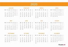 At A Glance Yearly Calendar 2020 Printable Calendars Monthly With Holidays Yearly