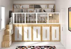 soppalco da letto soppalco impero calpestabile con libreria e divano da