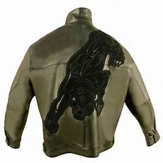 pelle pelle panther leather jacket 2206b limited