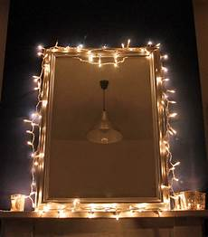 Fairy Lights Picture Frame Fairy Lights Mirror Peanut Buttered