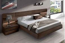 made in spain wood high end platform bed with
