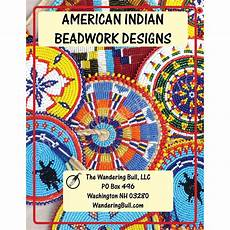 american indian beadwork designs the wandering bull