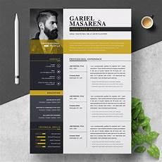 Designed Cv Templates Professional Word Resume Cv Template Cover Letter