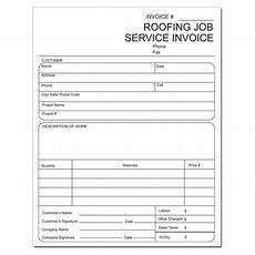 Roofing Invoice Roofing Invoice Invoice For Roofing Contractors