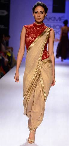 Dhoti Saree Design 11 Casual Ways To Drape A Saree Looksgud In