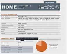 Renovation Budget Template Free Free Home Renovation Budget Template Renovation Project