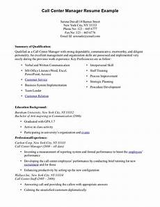 Call Center Duties Resume Call Center Resume Samples Sample Resumes