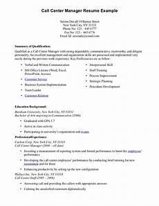 Call Center Job Description For Resume Call Center Resume Samples Sample Resumes