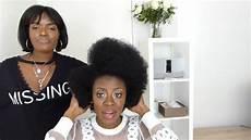 je fais mes cheveux je coupe mes cheveux coupe afro suite et fin