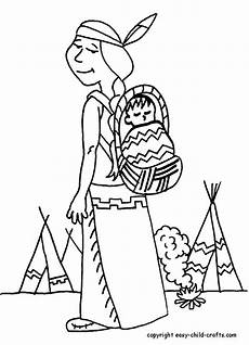 coloring pages indians coloring home