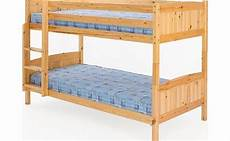 comfy living 3ft 90cm christopher pine bunk bed in a