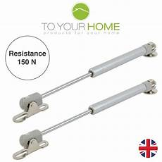 2 x 150nm gas struts springs for kitchen cupboard cabinets