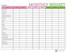 Printable Budget Calendar Free Budget Printables Get Help With Your Budget Today