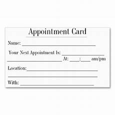 Appointment Cards Template 366 Best Images About Appointment Reminder Business Cards