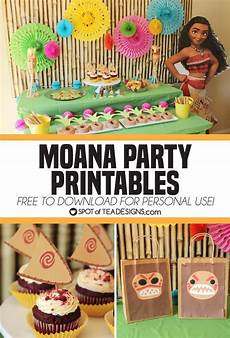 Printable Party Designs Moana Party Printables To Download Free And Use At Your Party