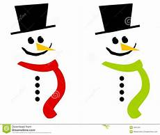 Snowman Faces Clip Art Smiling Snowman Clip Art 3 Stock Illustration