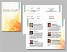 Conference Program Design Template Conference Program Booklet Conference Program Brochure