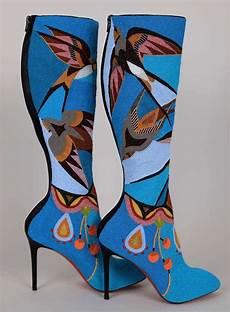 beadwork fashion stunning beaded boots from okuma