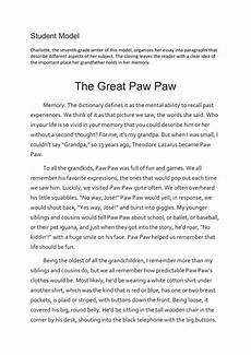 Personal Narrative Essay Sample Personal Narrative Essay Examples