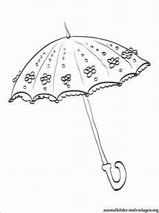regenschirm zum ausmalen vorlagen zum ausmalen gratis
