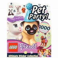 ultimate sticker collection lego friends pet