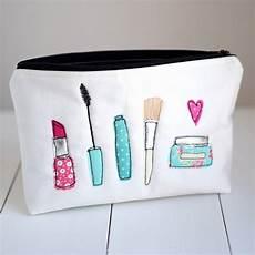 large applique make up bag by rosiebull designs