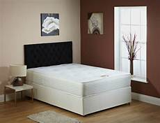 memory foam divan bed with mattress 3ft single 4ft6