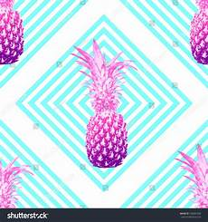 abstract pineapple iphone wallpaper pineapples beautiful seamless vector floral tropical stock