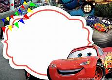 Car Invitations Birthday Free The Cars 3 With Photo Invitation Template Free