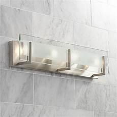 Halogen Vanity Light Fixture Hinkley Latitude 26 Quot Wide Brushed Nickel Vanity Light